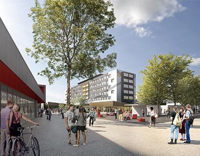 Cité universitaire Paul Appell- Strasbourg