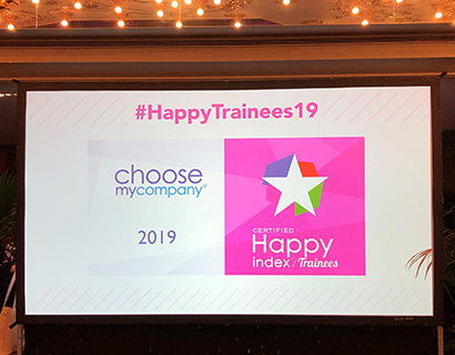 Rabot Dutilleul certifié « Happy Trainees 2019 »