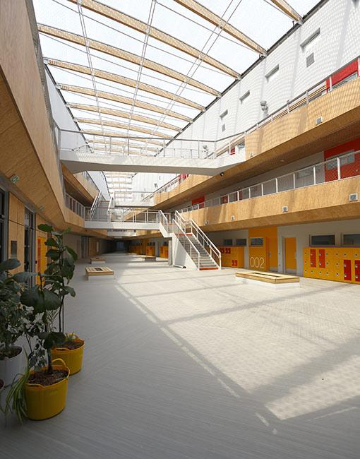Collège Simone de Beauvoir, Villeneuve d'Ascq