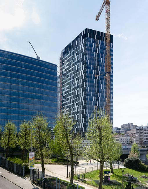 Tour The One, Les Entreprises Louis De Waele