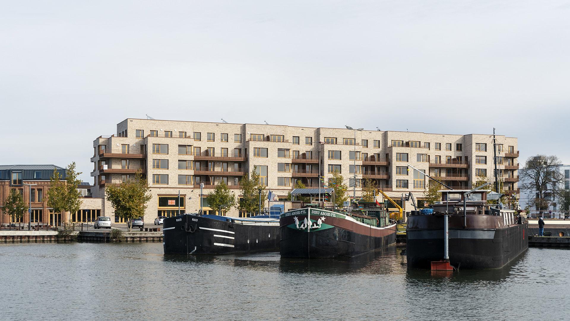 Quai des Canotiers, Lille, Nacarat, Rabot Dutilleul Construction