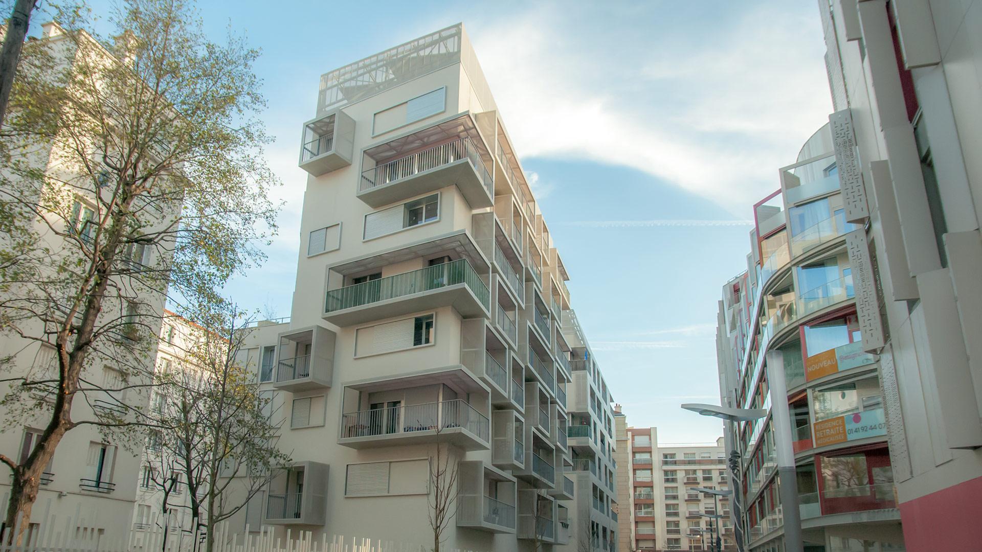 50 logements ZAC Clichy Batignolles, Paris
