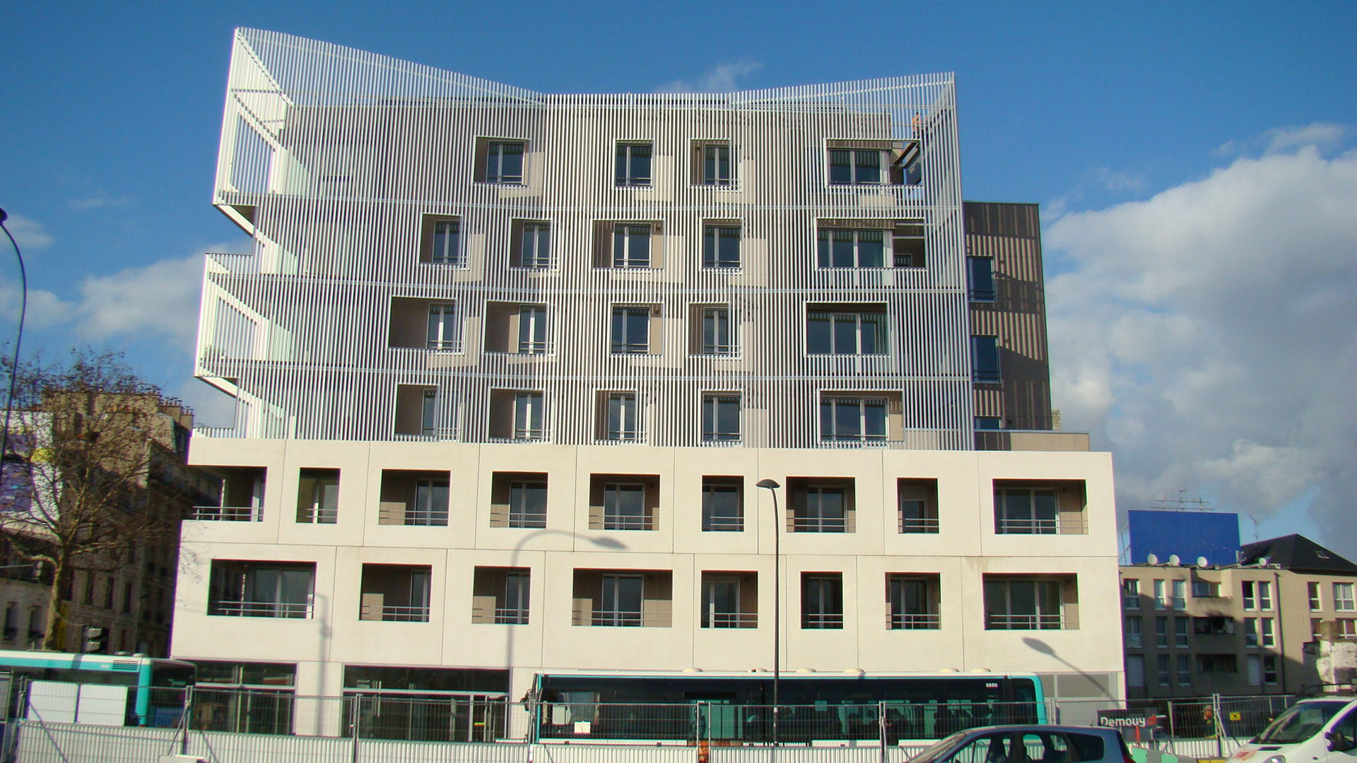 32 logements, Saint-Denis