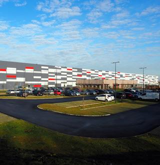 Centre logistique régional Décathlon, Lompret