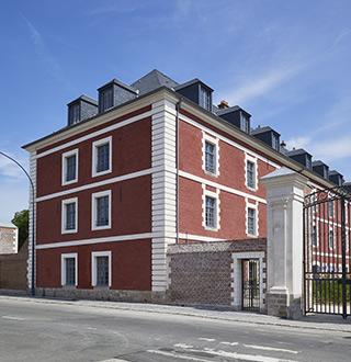 Caserne Schramm, Arras, Rabot Dutilleul Construction