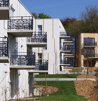 Résidence Mille Roses, Nacarat, Rabot Dutilleul Construction