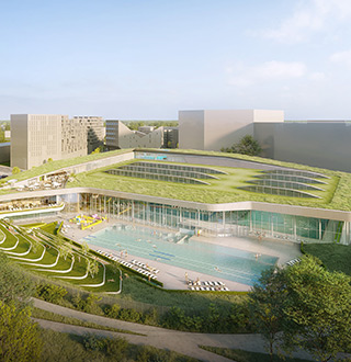 Piscine Olympique, Lille, Rabot Dutilleul Construction